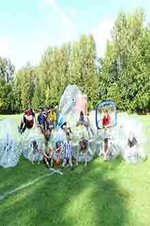 Bubble-Soccer-Hannover- Junggesellenabschied